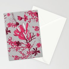 Fuchsia Cradle Flora Stationery Cards