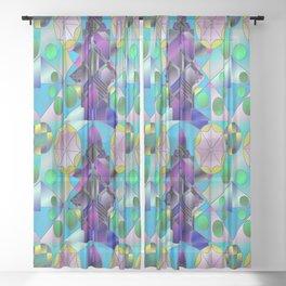 Sea Window Sheer Curtain