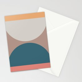 Abstract Geometric 23 Stationery Cards