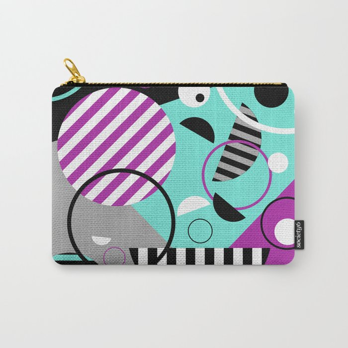Bits And Bobs - Abstract, geometric design Carry-All Pouch