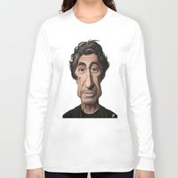 scarface Long Sleeve T-shirts featuring Celebrity Sunday ~ Al Pacino by rob art | illustration