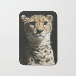 Cheetah Portrait Bath Mat