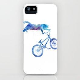 BMX Cat iPhone Case