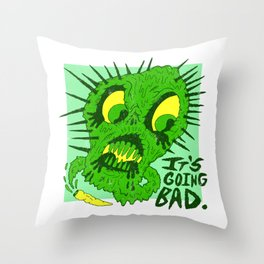 Nukem High X Beachy Boys Throw Pillow