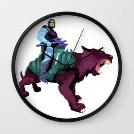 Skeletor x MrWetpaint Wall Clock