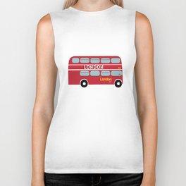 London Bus  Biker Tank