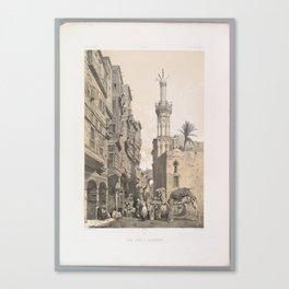 A street, in Rosette ,1843 Canvas Print
