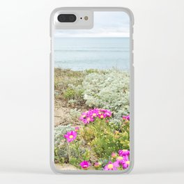 SPRING FLOWERS / Half Moon Bay, California Clear iPhone Case