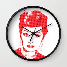 Lucille Ball | Pop Art Wall Clock