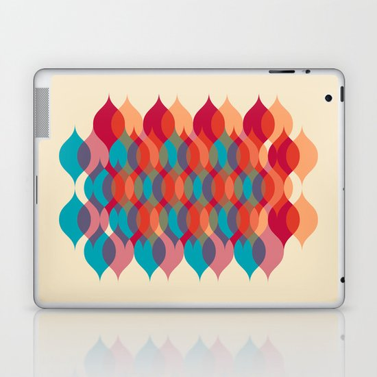 Ogee orgy cream Laptop & iPad Skin