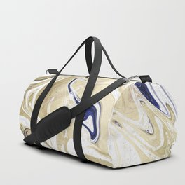 UltraViolet Gold Marble Duffle Bag
