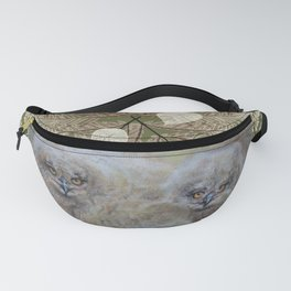 Eagle owls nest Fanny Pack