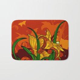 Jungle Lilies Bath Mat