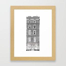 Byard Art, King's Parade, Cambridge, UK Framed Art Print
