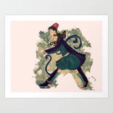 Saunter Art Print