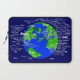 Peace on Earth Laptop Sleeve