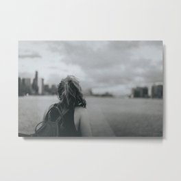 Lily in 35mm Metal Print