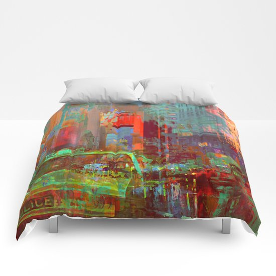 A commonplace day Comforters