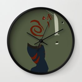 Drax the Destroyer Wall Clock