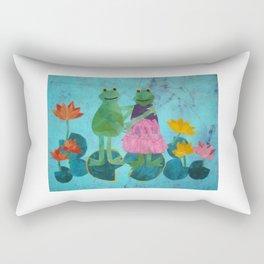 Froggy Went a Courtin' Rectangular Pillow