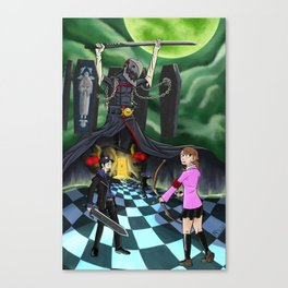Eros and Thanatos Canvas Print