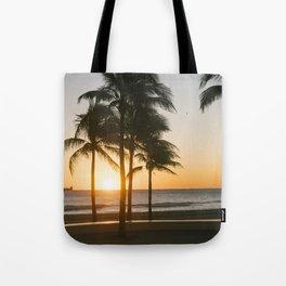 Fort Lauderdale at sunrise Tote Bag
