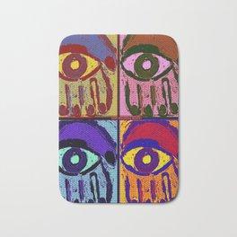 Pop Art Hamsas Bath Mat