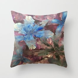 Dragonfly Seduction Throw Pillow