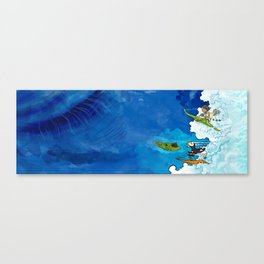 Monkess and the Bump Canvas Print