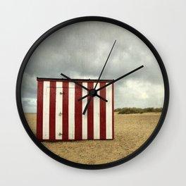 The Beach Hut, Great Yarmouth Wall Clock