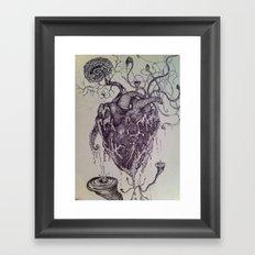 Organic Porn Framed Art Print