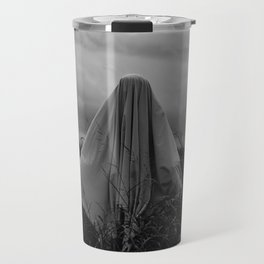 Ghost in the Field - Wide Travel Mug