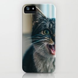 Blep Kitty iPhone Case