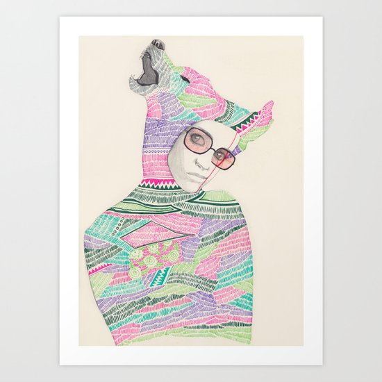 Abaya 02 Art Print