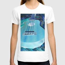 Strumming Blue T-shirt