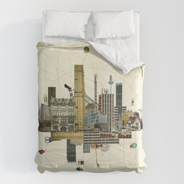Collage City Mix 8 Comforters