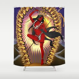 Vajra Yogini Shower Curtain