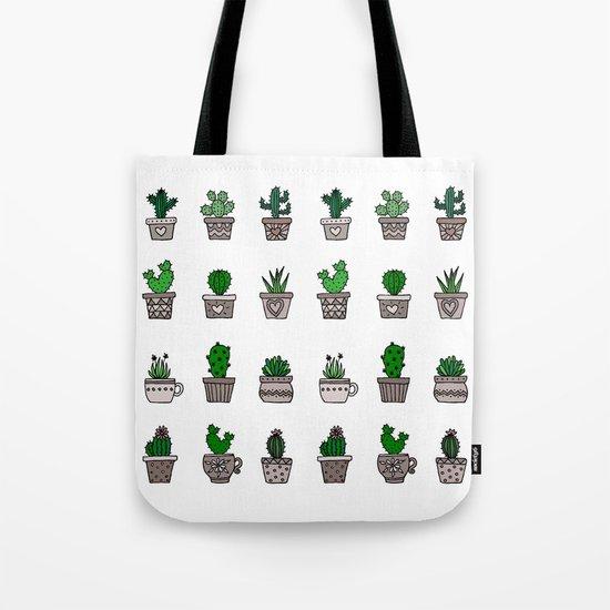 Cactus Pattern 2 Tote Bag