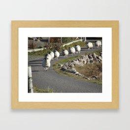 Ram Raiding Framed Art Print