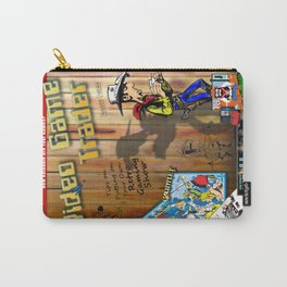 Video Game Trader #25 Cover Design Carry-All Pouch