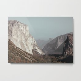 Tunnel View - Yosemite Metal Print
