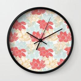Lotus Carousal Wall Clock