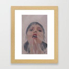 Breathless Framed Art Print