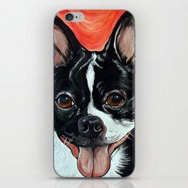 Boston Terrier Dog Art iPhone Skin
