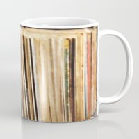 vinyl Mugs featuring Vinyl by strentse
