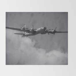 B-29 Superfortress Throw Blanket