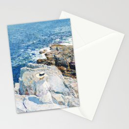 The South Ledges, Appledore - Digital Remastered Edition Stationery Cards