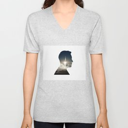 Elon musk launch  Unisex V-Neck