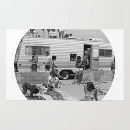 Vintage Caravan Party Rug