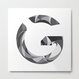 "Tao ""Letter G"" Metal Print"